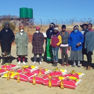 The Sisters Provide Food For The Needy